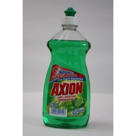 MEDIA CAJA AXION LAVATRASTES LIQUIDO LIMON DE 400 ML EN 6 BOTELLAS COLGATE-PALMOLIVE