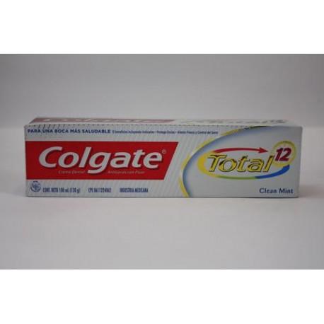 CAJA PASTA DENTAL COLGATE TOTAL DE 100 ML CON 72 PIEZAS - COLGATE-PALMOLIVE - Envío Gratuito