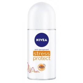 CAJA DESODORANTE NIVEA DEO ROLL STRESS PROTECTION DE 50 ML CON 12 PIEZAS - BEIERSDORF