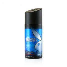 MEDIA CAJA DESODORANTE PLAY BOY DEO SPRAY SUPER DE 150 ML CON 6 PIEZAS - UNILEVER