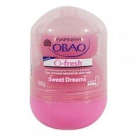 MEDIA CAJA DESODORANTE OBAO FRESH ROLL SWEET DREAMS DE 65 ML CON 6 PIEZAS - GARNIER