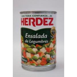 CAJA ENSALADA LEGUMBRES DE 400 GRS CON 24 LATAS - HERDEZ - Envío Gratuito