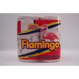 BULTO PAPEL HIGIÉNICO FLAMINGO 180 HOJAS DE 4 ROLLOS EN 24 PAQUETES - KIMBERLY CLARK