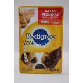 CAJA PEDIGREE RAZAS PEQUEÑAS POLLO DE 100 GRS CON 40 POUCHES - EFFEM