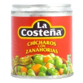 MEDIA CAJA CHICHARO CON ZANAHORIA DE 220 GRS CON 12 PIEZAS - LA COSTEÑA - Envío Gratuito