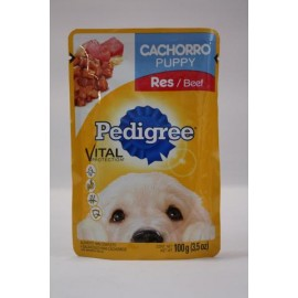 MEDIA CAJA PEDIGREE CACHORRO RES EFFEM DE 100 GRS CON 20 POUCHES - EFFEM