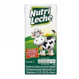 CAJA LECHE NUTRILECHE DE 1 LT CON 12 PIEZAS - LALA