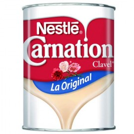 MEDIA CAJA LECHE CLAVEL CARNATION CON 24 LATAS DE 360 ML - NESTLE