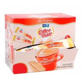 CAJA COFFEE MATE ORIGINAL STICK CON 200 SOBRES DE 4 GRAMOS EN 6 EXHIBIDORES - NESTLE