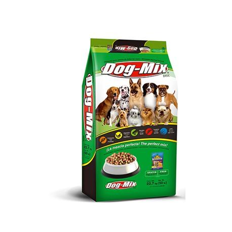 MEDIA CAJA ALIMENTO DE MASCOTAS DOG MIX BASIC ADULTO DE 3.75 KILOS EN 3 PIEZAS - PROPECSA - Envío Gratuito