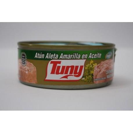 CAJA ATUN TUNY EN ACEITE DE 140 GRS EN 24 LATAS - MARINDUSTRIAS - Envío Gratuito