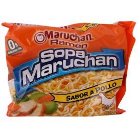 CAJA SOPA MARUCHAN RAMEN POLLO DE 85 GRS CON 24 PIEZAS - MARUCHAN - Envío Gratuito