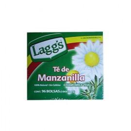 CAJA TE MANZANILLA LAGGS DE 96 SOBRES CON 12 CAJAS - LAGGS