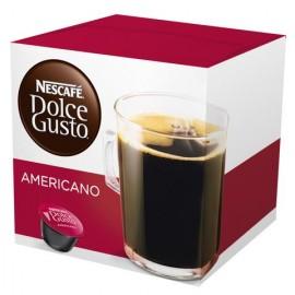 CAJA DE CAFE EN CAPSULAS DOLCE GUSTO SABOR AMERICANO DE 160 GRS POR 3 PAQUETES - NESTLE