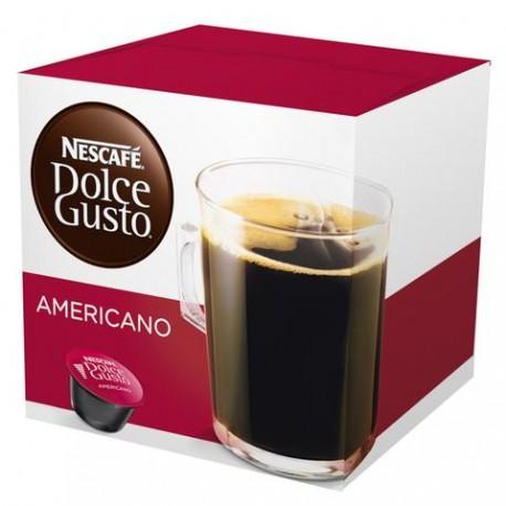 CAJA DE CAFE EN CAPSULAS DOLCE GUSTO SABOR AMERICANO DE 160 GRS POR 3 PAQUETES - NESTLE - Envío Gratuito