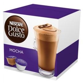 CAJA CAFE DOLCE GUSTO MOKA DE 216 GRS EN 16 CAPSULAS CON 3 PAQUETES - NESTLE