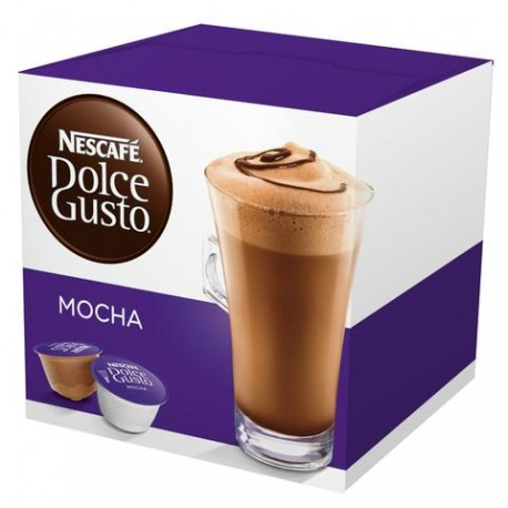 CAJA CAFE DOLCE GUSTO MOKA DE 216 GRS EN 16 CAPSULAS CON 3 PAQUETES - NESTLE - Envío Gratuito