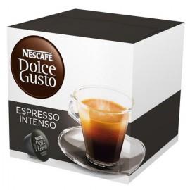 CAJA CAFE DOLCE GUSTO CAPSULA EXPRESSO INTENSO EN 16 CAPSULAS DE 128 GRS CON 3 CAJAS - NESTLE