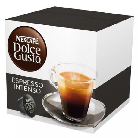 CAJA CAFE DOLCE GUSTO CAPSULA EXPRESSO INTENSO EN 16 CAPSULAS DE 128 GRS CON 3 CAJAS - NESTLE - Envío Gratuito
