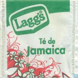 MEDIA CAJA TÉ JAMAICA LAGGS DE 24 SOBRES CON 9 PIEZAS - LAGGS