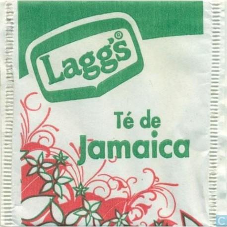 MEDIA CAJA TÉ JAMAICA LAGGS DE 24 SOBRES CON 9 PIEZAS - LAGGS - Envío Gratuito