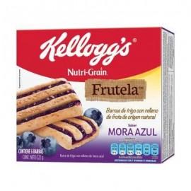 CAJA BARRA NUTRIGRAIN FRUTELA MORA DE 222 GRS EN 12 PIEZAS - KELLOGGS