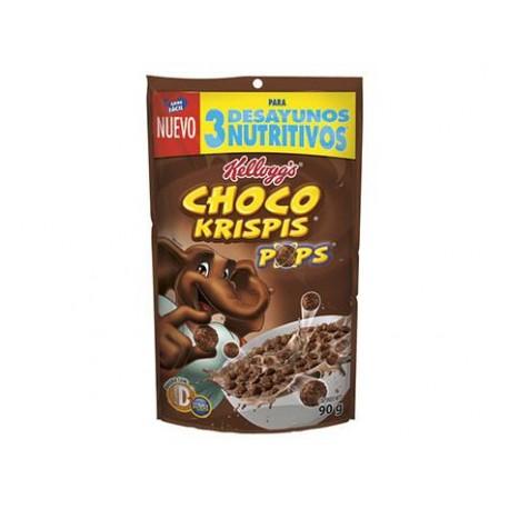 CAJA CEREAL CHOCO KRISPIS POP ECONOPAK DE 90 GRS CON 14 PIEZAS - KELLOGGS - Envío Gratuito