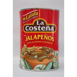 JALAPEÑOS ENTEROS MI LATOTA CON 2.8 KGS - LA COSTEÑA - Envío Gratuito