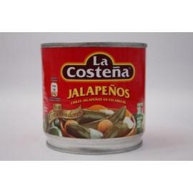 CAJA CHILES JALAPEÑOS DE 380 GRS CON 24 LATAS - LA COSTEÑA
