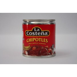 CAJA CHILES CHIPOTLES DE 105GRS CON 40 LATAS - LA COSTEÑA