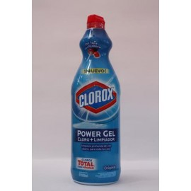 CAJA CLOROX POWER GEL DE 930 ML CON 15 BOTELLAS - CLOROX