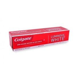 MEDIA CAJA PASTA DENTAL COLGATE LUMINOUS WHITE DE 75 ML CON 24 PIEZAS - COLGATE-PALMOLIVE