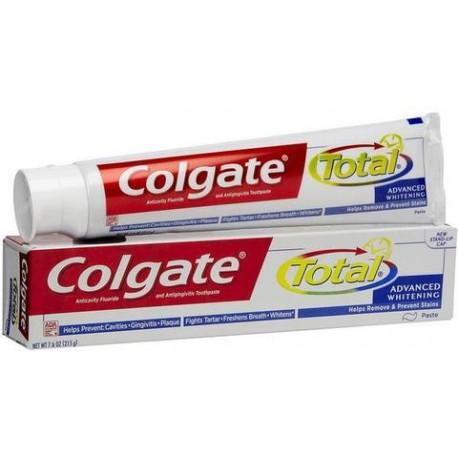 CAJA PASTA DENTAL COLGATE TOTAL DE 150 ML CON 72 PIEZAS - COLGATE-PALMOLIVE - Envío Gratuito