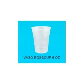 CAJA VASO BOSSCUP NO.6 DE 20 PAQUETES CON 50 VASOS - BOSCO