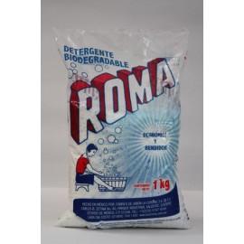 CAJA DETERGENTE ROMA DE 1KG CON 10 BOLSAS - LA CORONA - Envío Gratuito