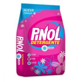 CAJA DETERGENTE PINOL FLORAL DE 900 GRS CON 10 BOLSAS - ALEN