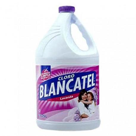 CAJA CLORO BLANCATEL LAVANDA DE 3.75 LITROS CON 6 PIEZAS - ALEN - Envío Gratuito