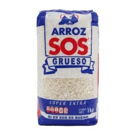 PAQUETE ARROZ SOS SUPER EXTRA DE 1 KG CON 12 PIEZAS - IPACPA - Envío Gratuito
