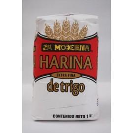 PAQUETE HARINA DE TRIGO DE 1KG CON 5 PAQUETES - LA MODERNA - Envío Gratuito