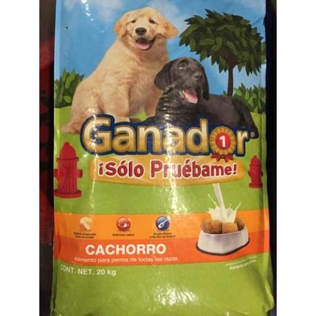 BULTO ALIMENTO PERROS GANADOR CACHORRO DE 20 KILOS - MALTA TEXO - Envío Gratuito