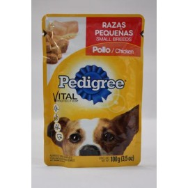 MEDIA CAJA PEDIGREE ADULTO POLLO DE 100 GRS CON 20 POUCHES - EFFEM
