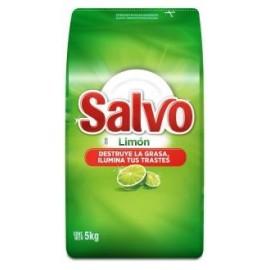 CAJA LAVATRASTES SALVO POLVO DE 5 KILOS CON 4 PIEZAS - PROCTER & GAMBLE - Envío Gratuito