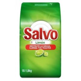 CAJA LAVATRASTES SALVO POLVO DE 1.8 KILOS CON 9 PIEZAS - PROCTER & GAMBLE - Envío Gratuito
