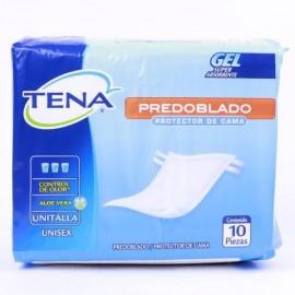 MEDIA CAJA PROTECTOR DE CAMA TENA PREDOBLADO EN 3 PAQUETES DE 8 PIEZAS - SCA - Envío Gratuito