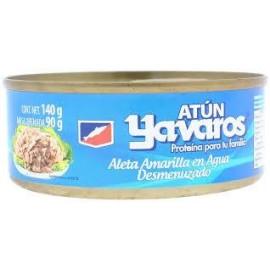 CAJA ATUN YAVAROS AGUA DE 140 GRS EN 48 LATAS - GRUPO PANDO