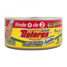 CAJA ATUN DOLORES ACEITE DE 295 GRS EN 24 PIEZAS - PINSA
