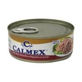 CAJA ATUN CALMEX EN ACEITE DE 140 GRS EN 48 PIEZAS - GRUPO PANDO