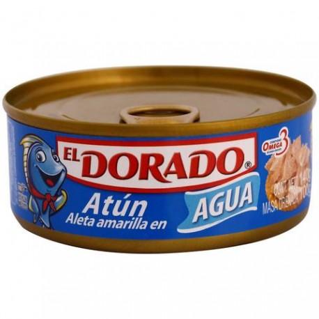 CAJA ATUN DORADO AGUA DE 140 GRS EN 48 PIEZAS - PINSA - Envío Gratuito