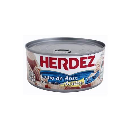 CAJA ATUN EN ACEITE DE 295 GRS EN 24 PIEZAS - HERDEZ - Envío Gratuito