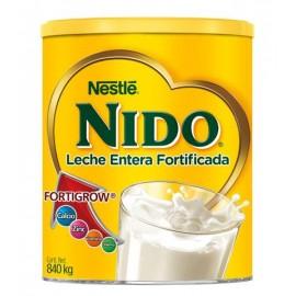 CAJA FORMULA LACTEA NIDO CLASICA 840 GRS 12 LATAS NESTLE